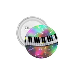 Piano Keys Music Colorful 3d 1 75  Buttons