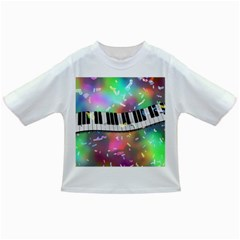 Piano Keys Music Colorful 3d Infant/toddler T-shirts