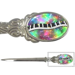 Piano Keys Music Colorful 3d Letter Openers by Nexatart