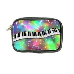 Piano Keys Music Colorful 3d Coin Purse by Nexatart