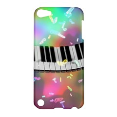 Piano Keys Music Colorful 3d Apple Ipod Touch 5 Hardshell Case by Nexatart