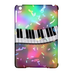 Piano Keys Music Colorful 3d Apple Ipad Mini Hardshell Case (compatible With Smart Cover) by Nexatart