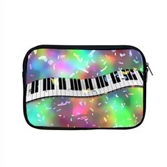 Piano Keys Music Colorful 3d Apple Macbook Pro 15  Zipper Case by Nexatart