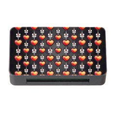 Love Heart Background Memory Card Reader With Cf
