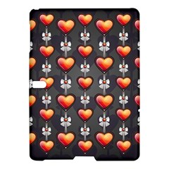 Love Heart Background Samsung Galaxy Tab S (10 5 ) Hardshell Case  by Nexatart