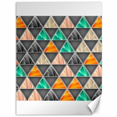 Abstract Geometric Triangle Shape Canvas 36  X 48   by Nexatart