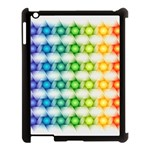 Background Colorful Geometric Apple iPad 3/4 Case (Black) Front