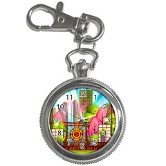 Zen Garden Japanese Nature Garden Key Chain Watches