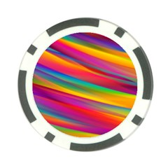 Colorful Background Poker Chip Card Guard (10 Pack)