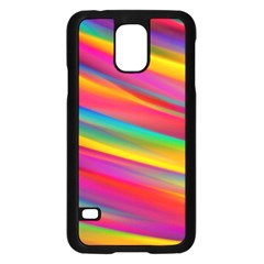 Colorful Background Samsung Galaxy S5 Case (black)