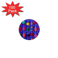 Colorful Background Stones Jewels 1  Mini Magnets (100 Pack)