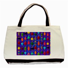 Colorful Background Stones Jewels Basic Tote Bag (two Sides) by Nexatart