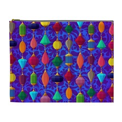 Colorful Background Stones Jewels Cosmetic Bag (xl)