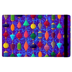 Colorful Background Stones Jewels Apple Ipad Pro 12 9   Flip Case by Nexatart
