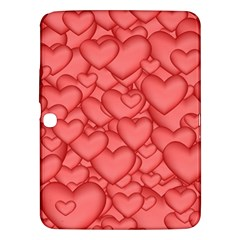 Background Hearts Love Samsung Galaxy Tab 3 (10 1 ) P5200 Hardshell Case