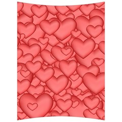 Background Hearts Love Back Support Cushion by Nexatart