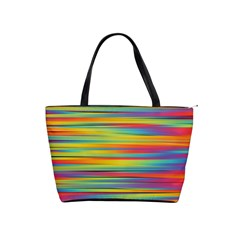 Colorful Background Shoulder Handbags