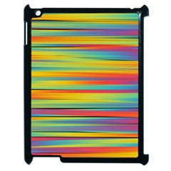 Colorful Background Apple Ipad 2 Case (black)