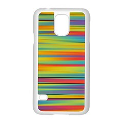 Colorful Background Samsung Galaxy S5 Case (white)