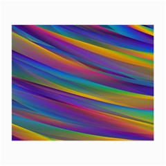 Colorful Background Small Glasses Cloth