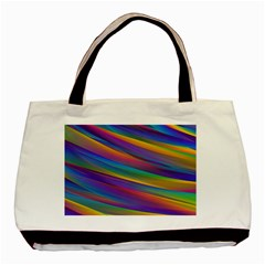 Colorful Background Basic Tote Bag