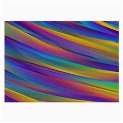 Colorful Background Large Glasses Cloth