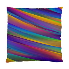 Colorful Background Standard Cushion Case (one Side)
