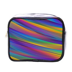 Colorful Background Mini Toiletries Bags
