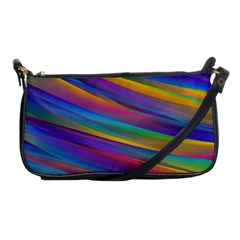 Colorful Background Shoulder Clutch Bags