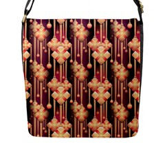 Seamless Pattern Patterns Flap Messenger Bag (l)