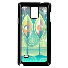 Background Landscape Surreal Samsung Galaxy Note 4 Case (black) by Nexatart
