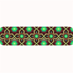 Pattern Background Bright Brown Large Bar Mats