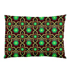 Pattern Background Bright Brown Pillow Case (two Sides)