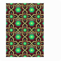 Pattern Background Bright Brown Large Garden Flag (two Sides) by Nexatart
