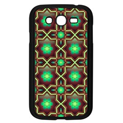 Pattern Background Bright Brown Samsung Galaxy Grand Duos I9082 Case (black)