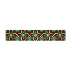 Pattern Background Bright Brown Flano Scarf (mini)