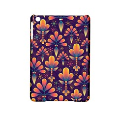 Abstract Background Floral Pattern Ipad Mini 2 Hardshell Cases