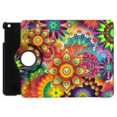 Colorful Abstract Background Colorful Apple Ipad Mini Flip 360 Case by Nexatart