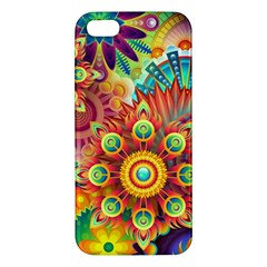 Colorful Abstract Background Colorful Apple Iphone 5 Premium Hardshell Case by Nexatart