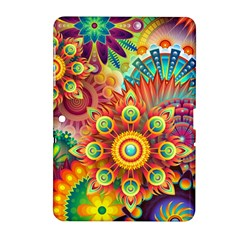 Colorful Abstract Background Colorful Samsung Galaxy Tab 2 (10 1 ) P5100 Hardshell Case