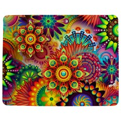 Colorful Abstract Background Colorful Jigsaw Puzzle Photo Stand (rectangular) by Nexatart