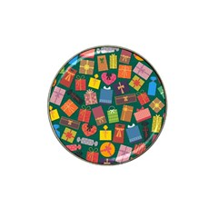 Presents Gifts Background Colorful Hat Clip Ball Marker by Nexatart