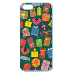Presents Gifts Background Colorful Apple Seamless Iphone 5 Case (color)