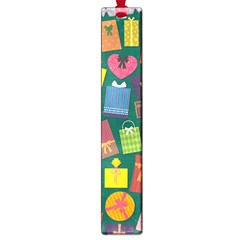 Presents Gifts Background Colorful Large Book Marks