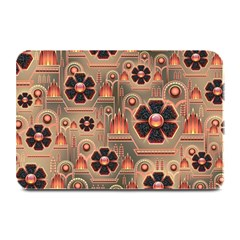 Background Floral Flower Stylised Plate Mats