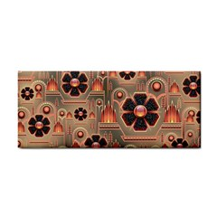 Background Floral Flower Stylised Cosmetic Storage Cases