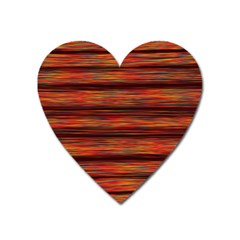 Colorful Abstract Background Strands Heart Magnet by Nexatart