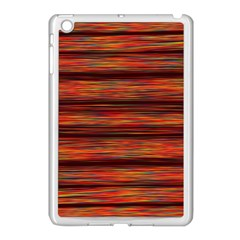 Colorful Abstract Background Strands Apple Ipad Mini Case (white)