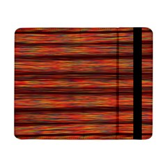Colorful Abstract Background Strands Samsung Galaxy Tab Pro 8 4  Flip Case
