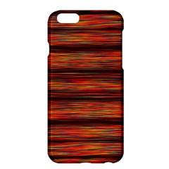 Colorful Abstract Background Strands Apple Iphone 6 Plus/6s Plus Hardshell Case by Nexatart
